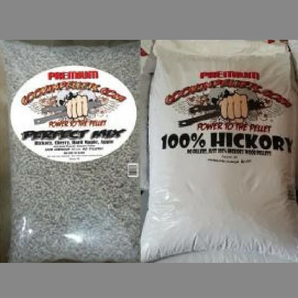 600 Lbs Perfect Mix & Hickory