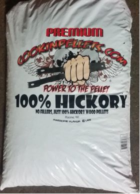 40 Lb Bag Premium 100% Hickory Pellets
