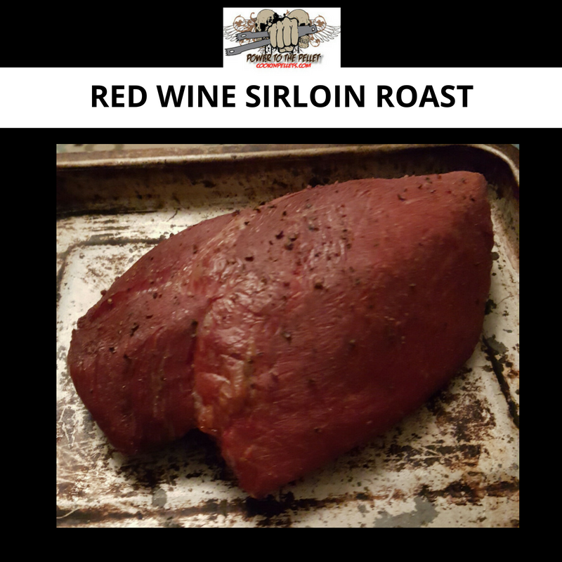 Red Wine Sirloin Roast