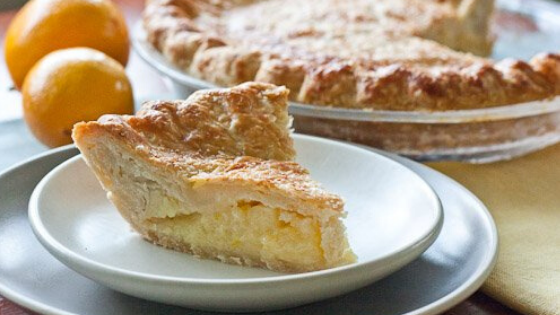 Oh My, Simple Smoked Lemon Pie